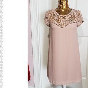 Light Pink Lace Dress